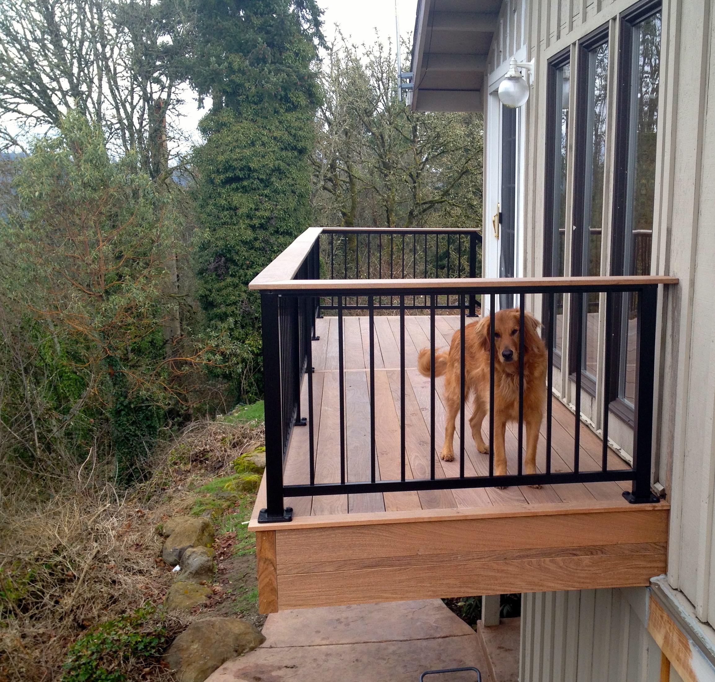 Ironwood Balcony with Alumarails