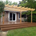 Timbertech Decking with Trellis