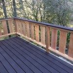 Tree Decking, toprail and custom Wood rails