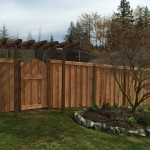 Good Neighbor Fence and gate and Trellis