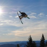 Our son competing in Freeski competitions at Nationals