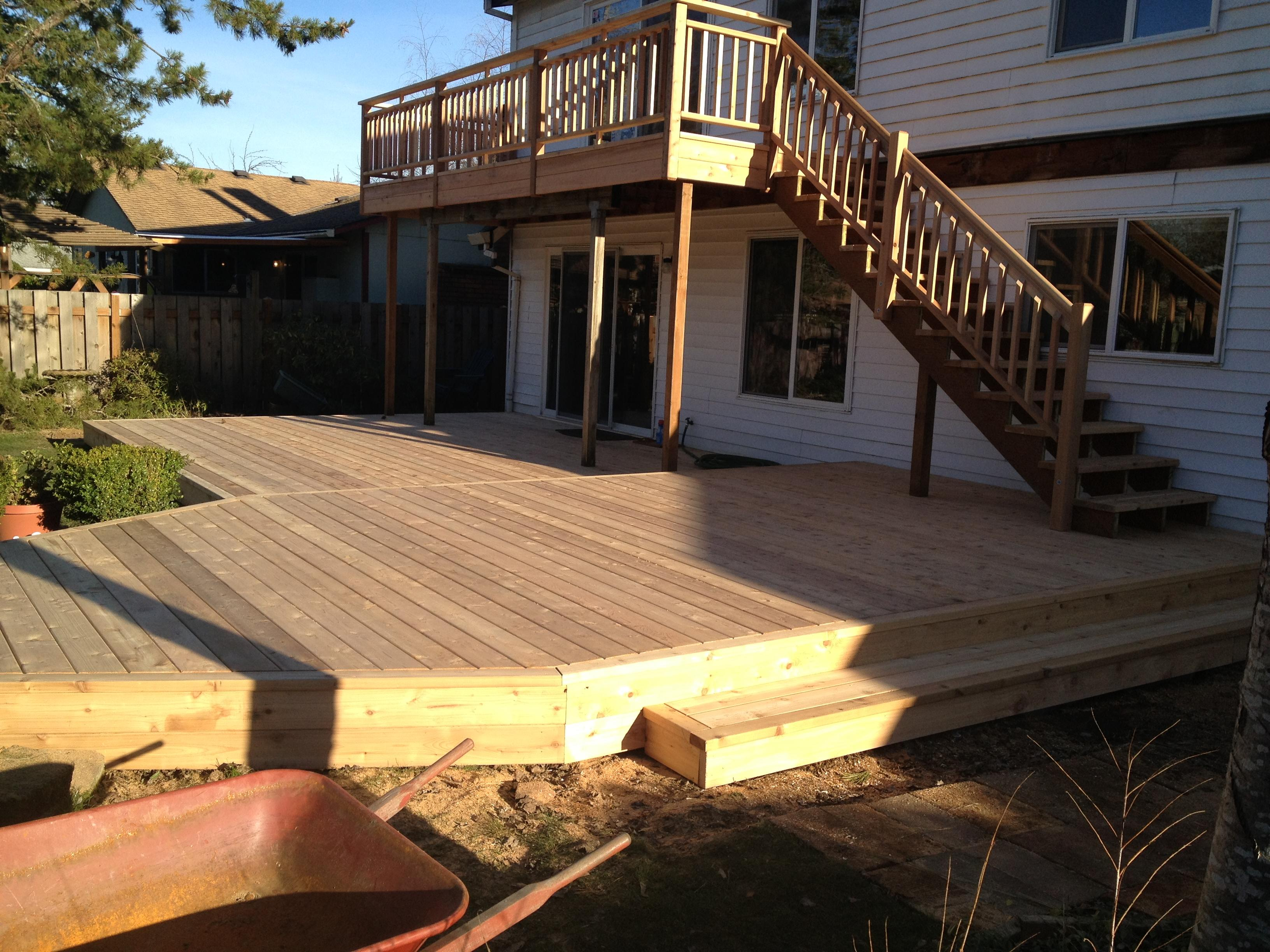 Cedar Deck in Troutdale