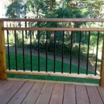Cedar Rail with decorator pickets