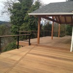 Finished ironwood decks & new overhang