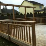 Deck & Privacy Barrier (for hanging shades)