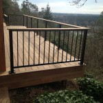 Ironwood deck w/alumarail pickets