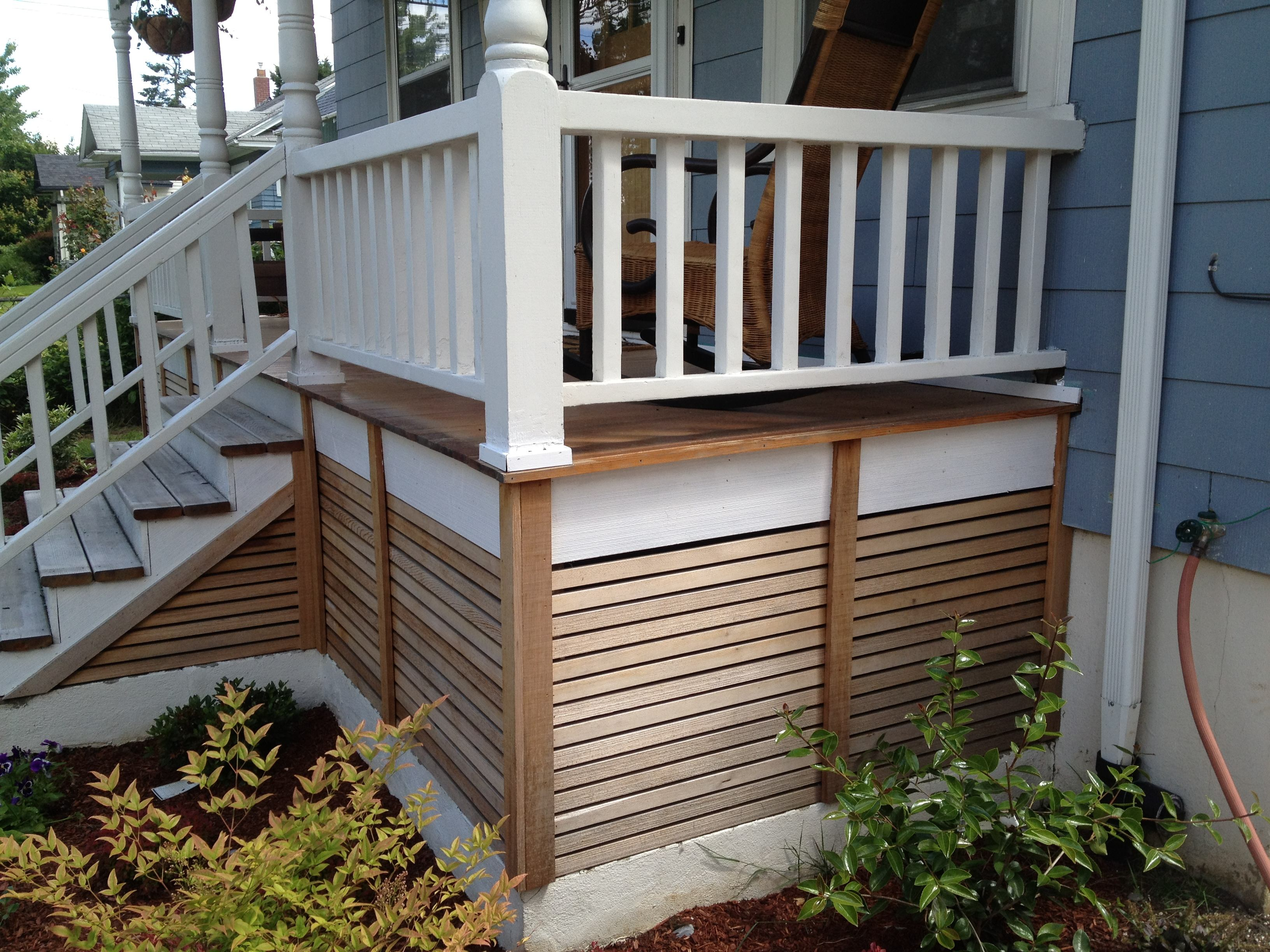 Custom porch enclosure