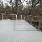 Wetlands Deck and cable rail