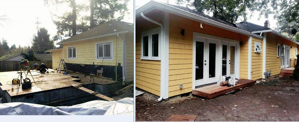 Addition - Before and After