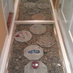 Stepping Stones set into Hallway