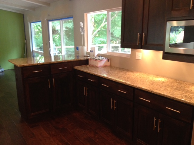 New Counters & Cabinets