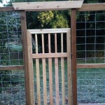 Deer proof Garden gate
