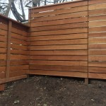 Horizontal Cedar Fence