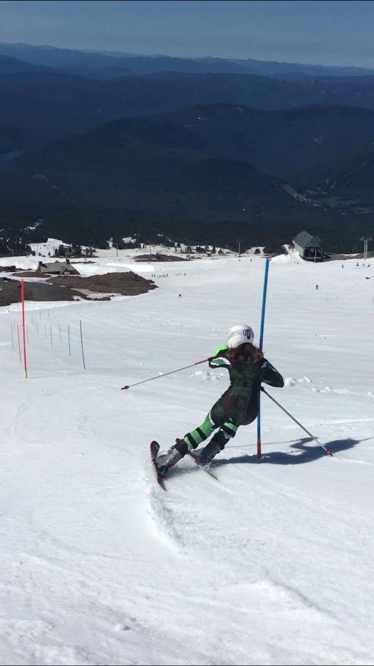 Daughter HS ski racing  2018