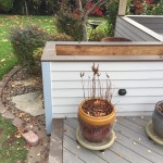Custom made planter boxes